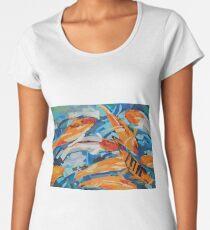 Goldfish Pond Women's Premium T-Shirt