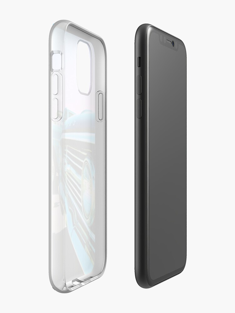 Alternate view of Parked Chrome iPhone Case & Cover