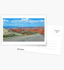On The Winding Road Postcards