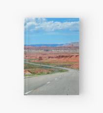 On The Winding Road Hardcover Journal