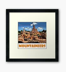 "Big Thunder Mountain Disney World ""Mountaineers"" Framed Print"