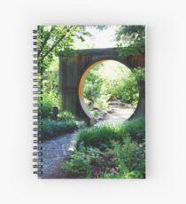 Doorway to Serenity Spiral Notebook