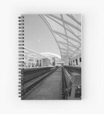 Follow The Lines Spiral Notebook