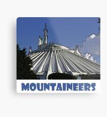 "Space Mountain Disney World ""Mountaineers"" Metal Print"