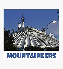 "Space Mountain Disney World ""Mountaineers"" Photographic Print"