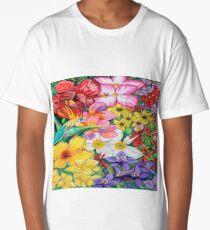 Flower pedals | Abstract Art Long T-Shirt