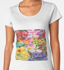 Flower pedals | Abstract Art Women's Premium T-Shirt