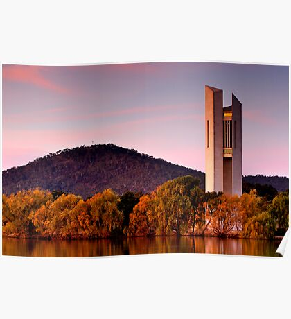 National Carillon - Canberra Poster