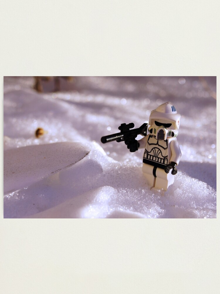 Alternate view of Snow Trooper Photographic Print