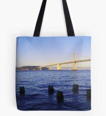 Bay Bridge in Late Afternoon Tote Bag