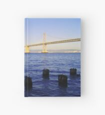 Bay Bridge in Late Afternoon Hardcover Journal
