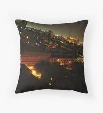 New York at Night Throw Pillow