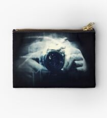 Hands and Light in Photography Studio Pouch
