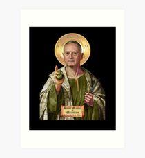 General Mattis Patron Saint of Chaos Art Print