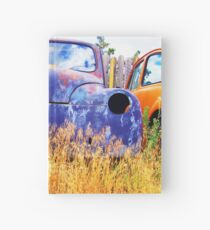 Rusty Gold Hardcover Journal