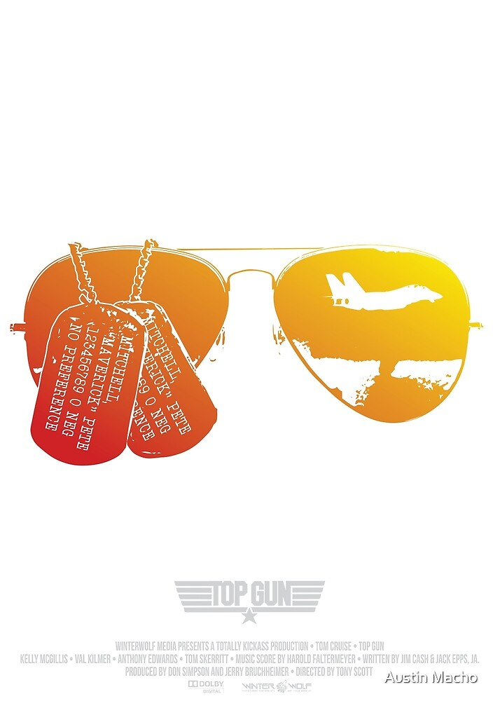 Maverick's Aviators & Dogtags by Austin Macho