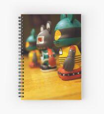 We Three Mickeys Spiral Notebook