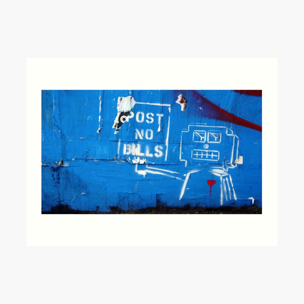 Don't Break the Robot's Heart Art Print