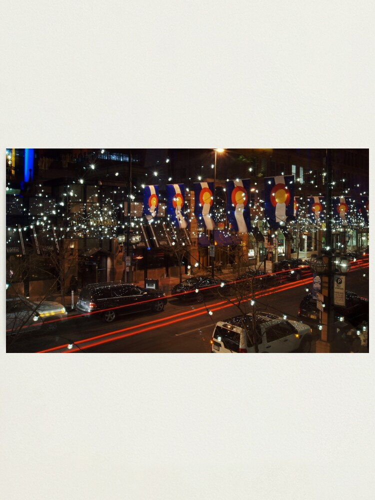Alternate view of The Lights of Larimer Square Photographic Print