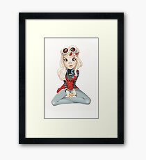 Candy Band Aid Framed Print
