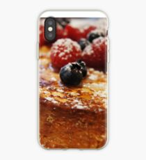 Brioche French Toast with Berries iPhone Case