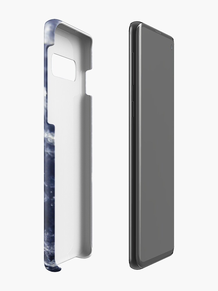 Alternate view of Frosted Snowflakes HDR Case & Skin for Samsung Galaxy