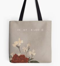 In My Blood Shawn Mendes Tote Bag