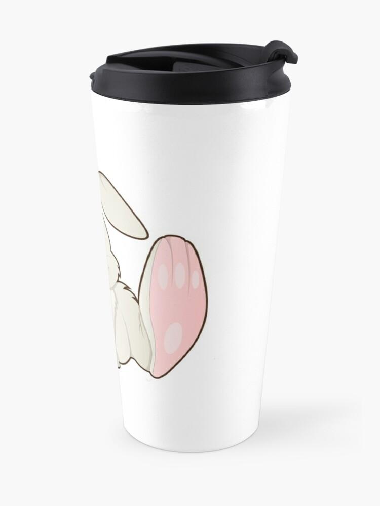 Vista alternativa de Taza de viaje Bunny