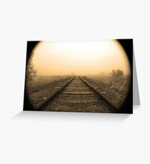 Portal Into the Past Greeting Card