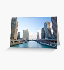 Chicago Illinois USA, Downtown Chicago Greeting Card