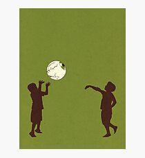 Eye Ball, Green Photographic Print
