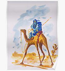 Azure Berber Poster