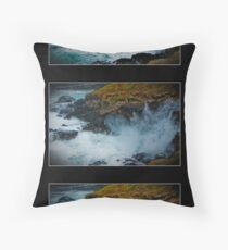The Blowhole, Phillip Island Throw Pillow