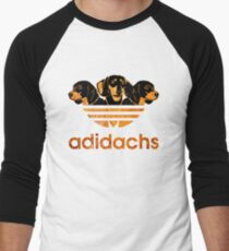 AdiDachshund Men's Baseball ¾ T-Shirt