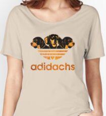 Camiseta ancha para mujer AdiDachshund