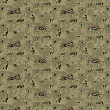 Safari Animals Pattern by Missman
