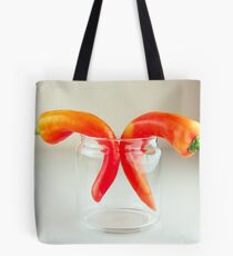 Red Chillies Tote Bag
