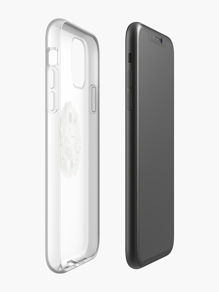 Coque iPhone « yin et yang doodle », par taperdart