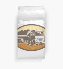 Cement Truck Duvet Cover