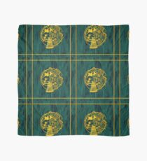 Exterminate! Gold Foil on Acrylic Scarf
