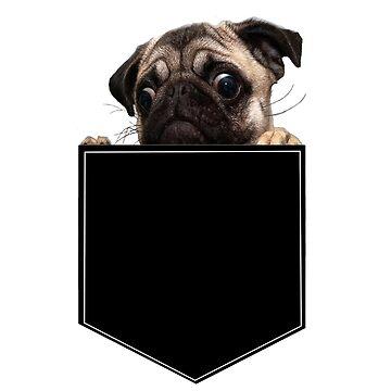 Bolsillo Pug de IllTrill