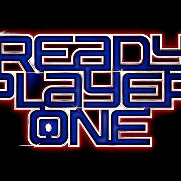 ready player one logo by fahroz