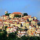 Hilltown of Tuscany by hans p olsen