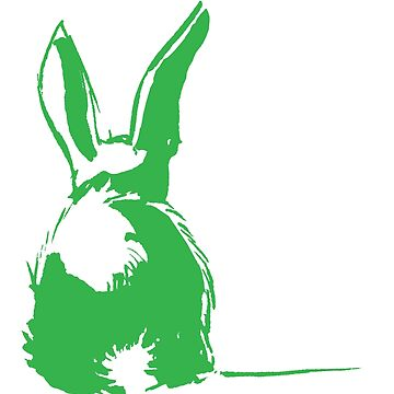 green bunny by EmilieGeant