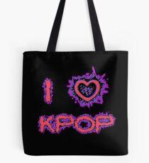 I LOVE KPOP SPIKE - PINK Tote Bag