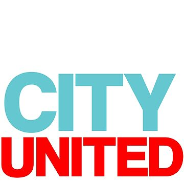 Manchester City United by litteposterco