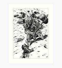 THE GIANTS OF ICE- THE ICE GIANTS Art Print
