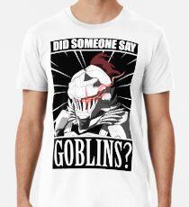 """Camiseta premium para hombre Asesino Goblin """"¿Alguien dijo duende?"""" meme T-shirt"""