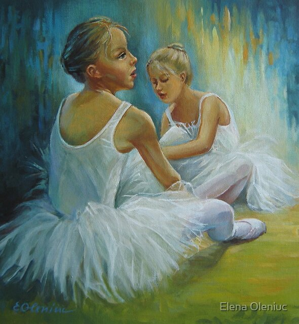 Little ballerinas by Elena Oleniuc