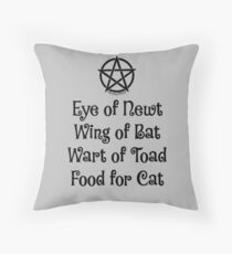 Eye of Newt Cheeky Witch® Shopping Tote Bag Throw Pillow